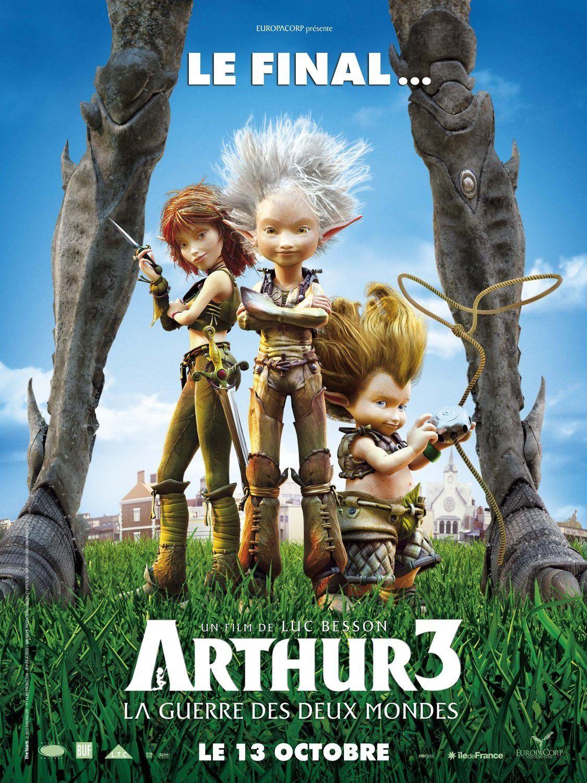 Arthur et les minimoys 3 : La guerre des 2 mondes